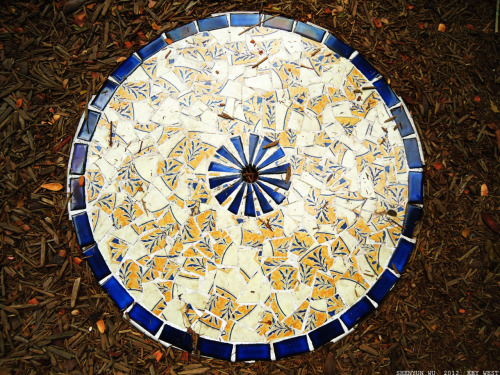 Tiles from Hemingway estate. #tiles #photography #patterns #Hemingway Key West, FL.January 2012.