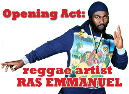 Come for Dinner and to check out opener, Reggae Artist - Ras Emmanuel  - Friday 2/24 show - Seating begins at 7pm.
