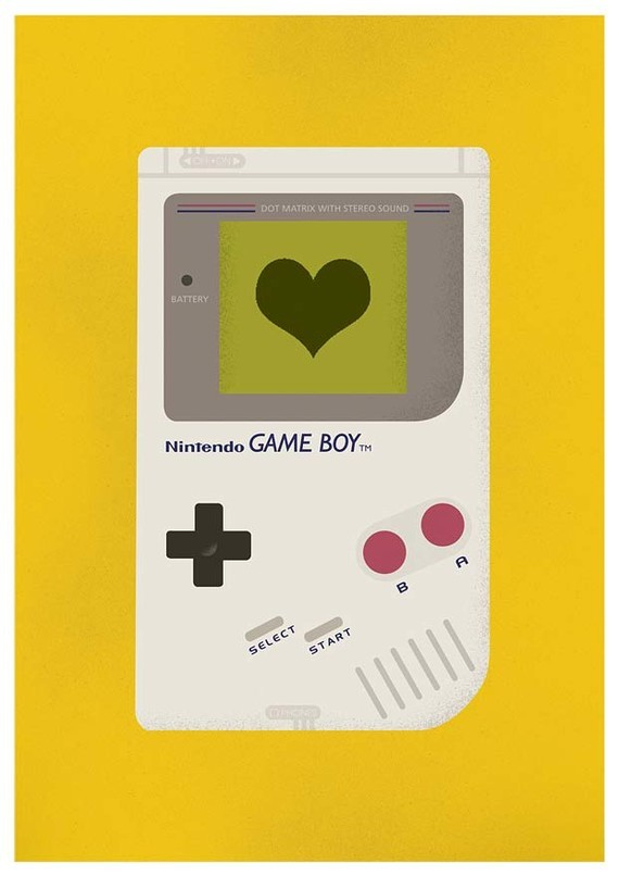 Nintendo Art - by Jan Skácelík Available on Etsy