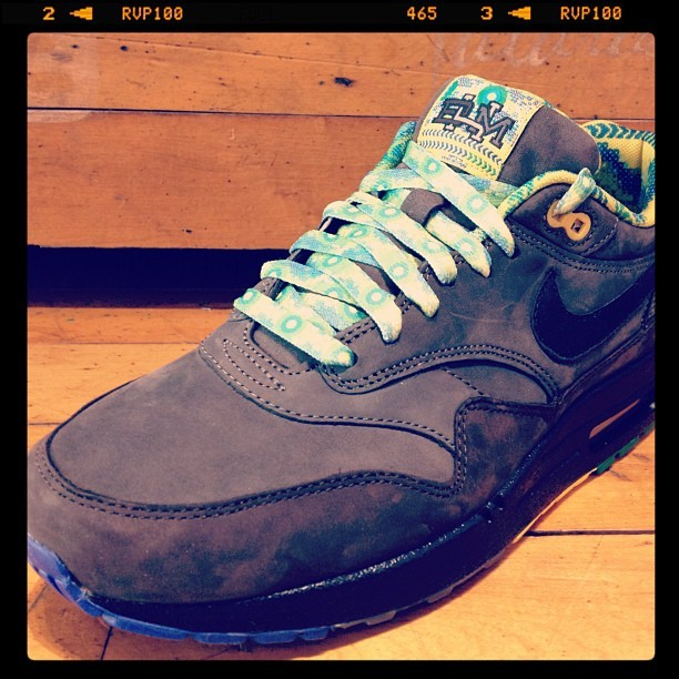 freshnessmag:  Just got in this morning @21Mercer. Nike Air Max 1 Black History Month #BHM (Taken with instagram)