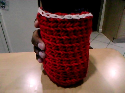 I don't JUST make hats…I also make bottle cozies! Only $6…