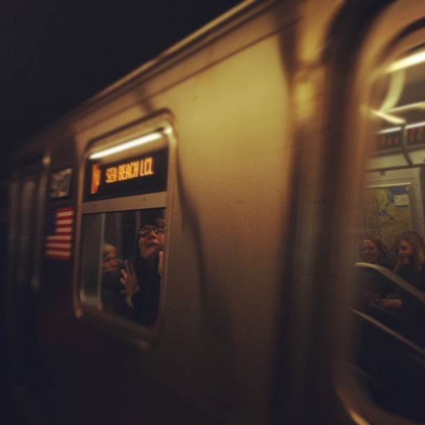 Florence on the #newyork #subway. #life #nyc #city #transit (Taken with instagram)