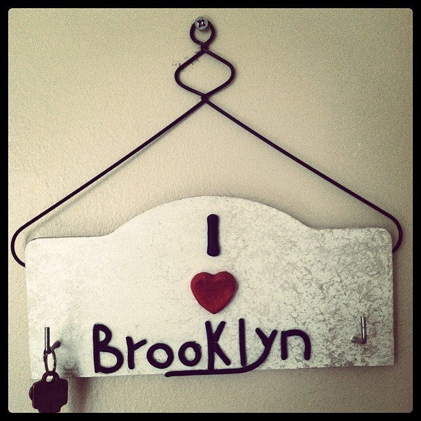 I love #Brooklyn. #newyork #nyc #city #signs  (Taken with instagram)