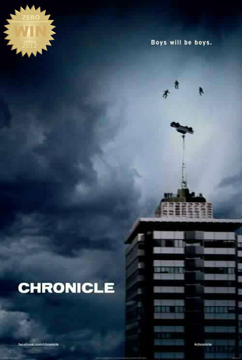 "Chronicle (2012) Three high school students make an incredible discovery, leading to their developing uncanny powers beyond their understanding. As they learn to control their abilities and use them to their advantage, their lives start to spin out of control, and their darker sides begin to take over. Origins: Good and Evil collide!!! Sparked by angst, abuse and power!  I honestly thought it was gonna be a big budget Hollywood B.S. flick… What a thrilling surprise it was to catch this little film, about great power and responsibility. I mocked the idea at first… the final product got my respect. The new boys! ""still waters run deep"" Andrew (Dane DeHaan), ""Best dude"" Matt (Alex Russell) and ""Mr. President"" Steve (Michael B. Jordan) fly high and touch the sky. An impressive starring debut for the 3 gentlemen. I had my initial doubts and worries, In the end they did the job well. Written & Directed by relative unknowns, this superpower film kicked ass! in more ways than one. BUT… you know you've seen this before… Tweaked a bit and reoriented for the American market… Akira (1988) - TELL ME I'M NOT RIGHT? I DARE YOU. Sci-fi, action, adventure, fantasy and drama!!! What a mouthful.  Bullied boys and Cool kids, let evil and good brood. The roots of madness and kindness are captured by the buddy trio and their fantastic journey within themselves. We all want powers! Jealousy got the best of me… damn. The ""captured footage"" angle has been drawn out and so has the ""superpower"" genre. How did this film kickass? Good writing and directing. The visual effects were neat and the action (in the end) was epic! Akira! Not a shaky as some would think. Clean edits between different video recorders and security cams remind people that this is a ""fun film"".  They're sold me my own dream - it's been a while since i've felt this way about a film. Especially one that i initially dissed/mocked (without proof). I am now a believer, no longer a doubter. Sometime y'gotta give a film a chance, it may surprise you - with its inner strength."