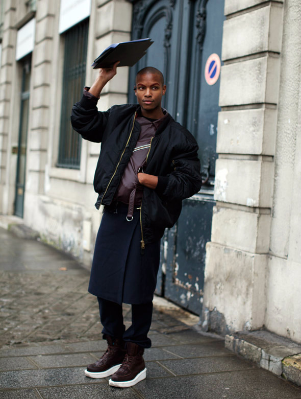 The Sartorialist - On the Street…. Quai Malaquais, Paris  ILL