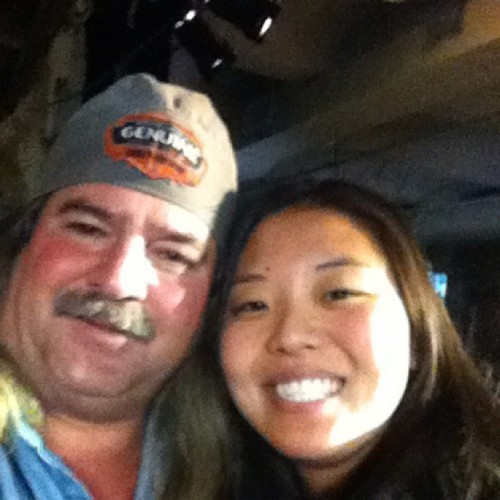 Me and Bruce from swamp people!! (Taken with instagram)