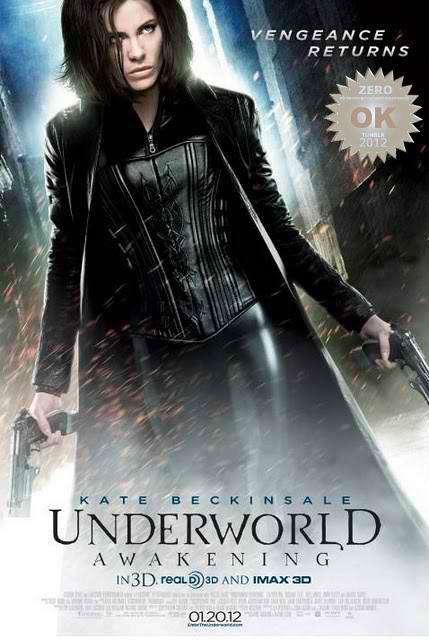 "Underworld Awakening (2012) The vampire warrioress Selene escapes imprisonment to find herself in a world where humans have discovered the existence of both Vampire and Lycan clans, and are conducting an all-out war to eradicate both immortal species. Kate Beckinsale does it a 3rd time! That Body DAMN.  The vamp-wolf franchise has reached the stratosphere!!! Like most films that stretch their time, diluted by sequel after sequel and the ""Lycan "" prequel.  It was like a sic-fi horror video game. The story simply does not compute… Visually it was as brilliant as it's predecessors. Action and production was great. There was a ""fun factor"" despite the dryness of written content. A child is now in the mix - yeah, that was original. It was ok for what it was… we all know what to expect… Hollywood."