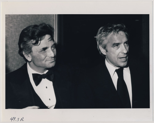 Peter Falk and John Cassavetes