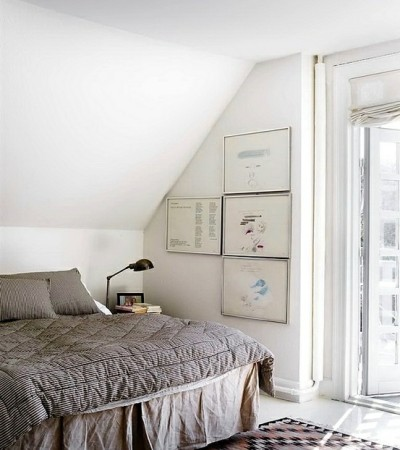 myidealhome:  comfy attic bedroom (via Attic space / .)