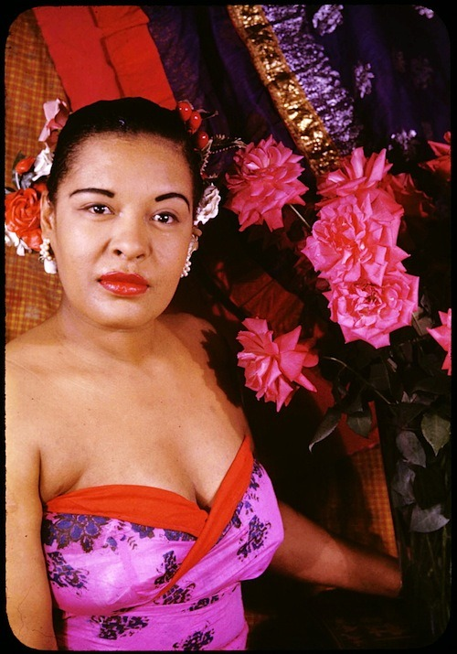 billie holiday photographed by carl van vechten, 1949
