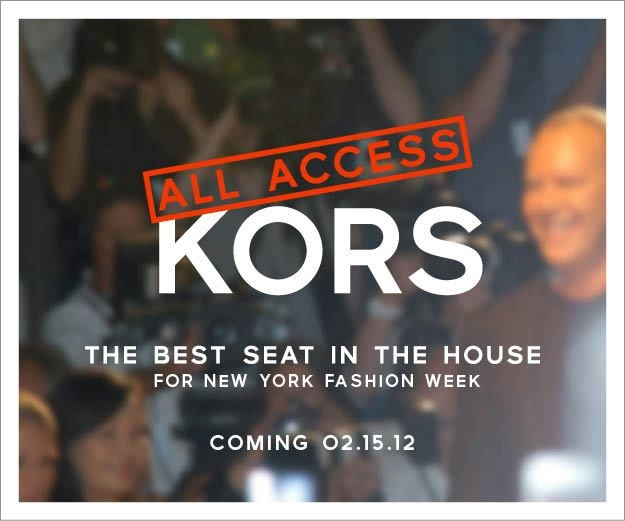 Just 4 more days til' Michael Kors Fashion Show!