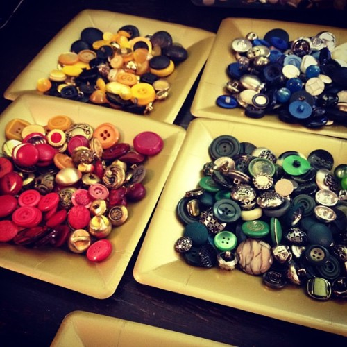 Hogwarts buttoning. #baileyforgets #etsy (Taken with instagram)