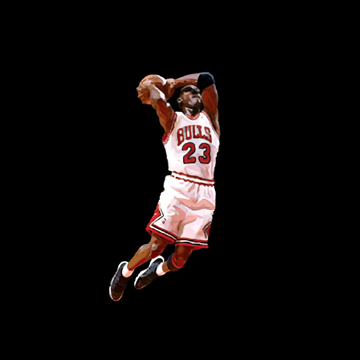 Michael Jordan Digital Painting | Purchase: Wall Art