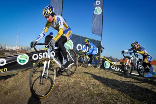 Superprestige Middelkerke 2012: Nikki Harris In Action In Middelkerke., Photos | Cyclingnews.com More photos of the rage on Cyclingnews