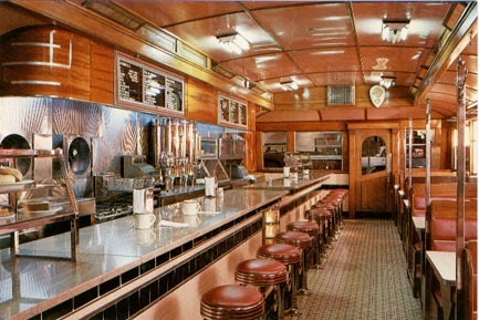 cr8zylady late 1920 s diner car fun fact. Black Bedroom Furniture Sets. Home Design Ideas