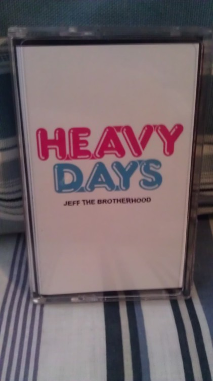 "The album of the week today is ""Heavy Days"" by Jeff The Brotherhood and it will air at 6 pm Central Time. The whole radio show starts at 4pm and goes till 8pm Central Time. Listen here when the time comes: http://stlouisccfv.backbonebroadcast.com/"