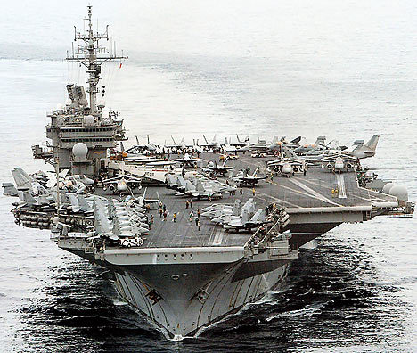 bluecobra:  USS Kitty Hawk