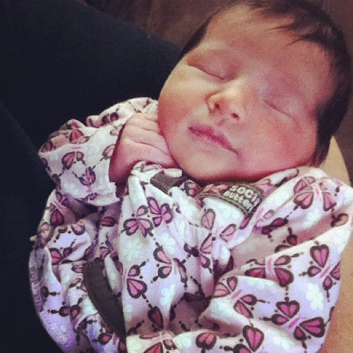 #new #niece #love #happy #instagram #newborn #baby #ig #igdaily  (Taken with instagram)