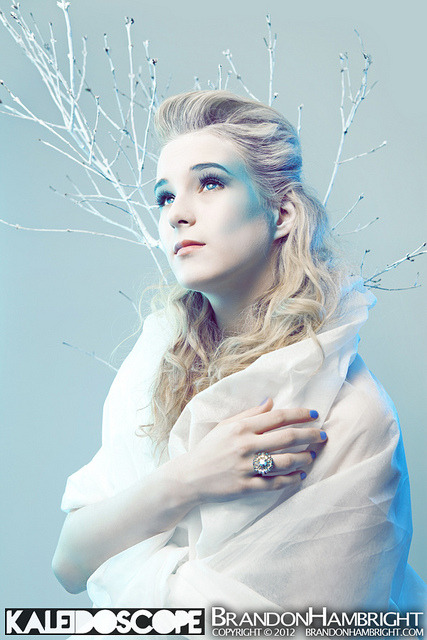 First finished photo from this Ice Queen photo shoot I had last week. Pretty stoked on the way it came out. Can't wait to release more!  Kaleidoscope Studio | Richmond, VA | February 4, 2012Credits: Model: Berkley Ann Isbell Photographer: Brandon Hambright Production: Kaleidoscope Concept / Wardrobe / Make-Up: Jessica Morris Hair Stylist: Eli GreeneStrobist: - Vivitar 285HV, 1/2 power, above camera left, through white umbrella - Vivitar 285HV, 1/16 power, camera left , through white umbrella, light blue gel - LumoPro LP160, 1/16 power, camera right, through white umbrella, blue gel - Canon 430EXII, 1/32 power, on-ground camera right towards backdrop, bare triggered by Elinchrom Skyports Check me out on my other sites:BrandonHambright.com // Facebook // Twitter // Youtube // Tumblr