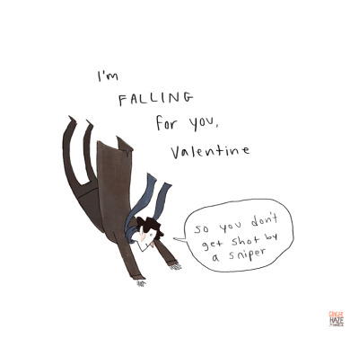 gingerhaze:  I finally thought of a Sherlock valentine! Unfortunately, it's completely tasteless. Oh well. more tasteless valentines here  bahahaha