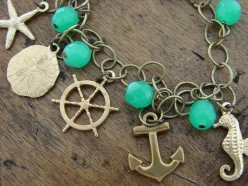 closetfullofsexy:  Nautical Charm Bracelet - $32.00