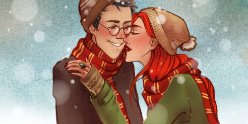"""James Potter and Lily Evans"" by Elda93."