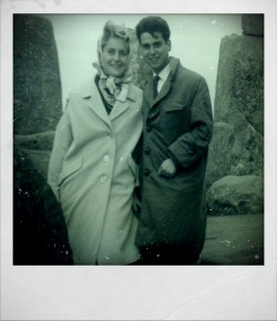 My grandparents at stonehenge 1961
