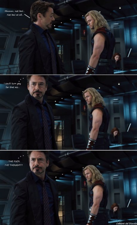Tony's Bad Thought by ~CABARETdelDIAVOLO