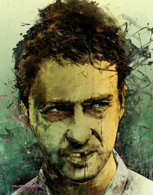 oliphillips:  Edward Norton - Fight Club by Fresh Doodle - JP Valderrama
