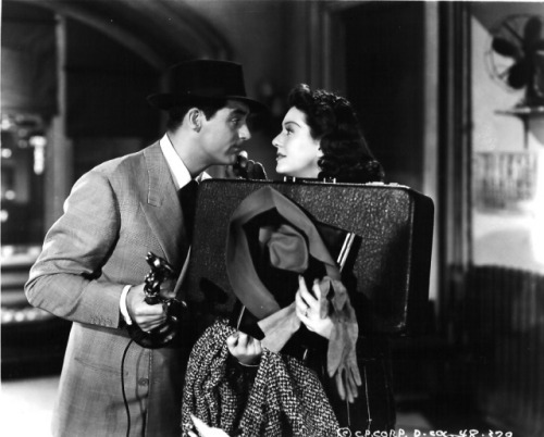 His Girl Friday.  A fine picture. Reeeaally somethin'. So many twists. I hope we finish the Trails at Nuremberg too!