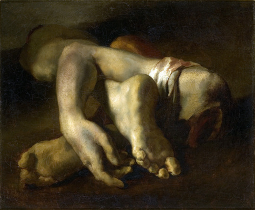 Study of Feet and Hands by Theodore Gericault