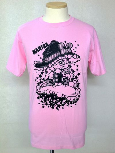 Touhou Project Marisa Kirisame D:sign T-shirt - US$41 -http://www.flutterscape.com/product/no/16325/touhou-project-marisa-kirisame-d-sign-t-shirtThis is one of Touhou Project T-shirt series only Japan.It is pop and cute!It's back side is without a printing.Illust: Setter (Seven Stars!!!!!!!)Size: M, L