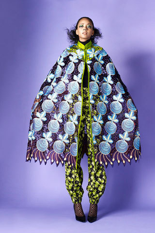 "Duro Olowu A/W '12. Everyone is sucking shit at NY Fashion Week right now, even the people the mags are raving about are wack. As I told Judnick, Jason Wu looked like better-tailored Baby Phat ca. 2007, and even the best parts of Prabal Gurung were direct rips from Givenchy couture A/W '11. Everyone else seems to be translating some misguided notion of ""austerity"" into no prints, overly simple tailoring, and a paucity of ideas. That said, as usual Duro Olowu fucking brought it."