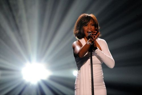 The voice trailed off…  R.I.P. † Whitney Houston