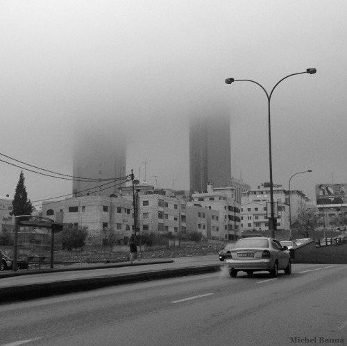 The pros of cloudy days in Amman!    Michel Banna| project: manifesto