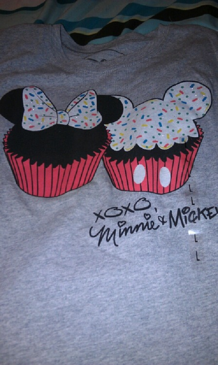 disneymerchgalore:  Check out the super adorable (kids) shirt I bought at JC Penny today! I LOVE it!