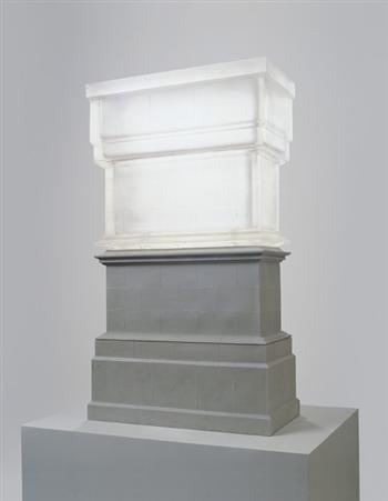 sfweeffrffggh:  Untitled (Trafalgar Square Plinth) by Rachel Whiteread