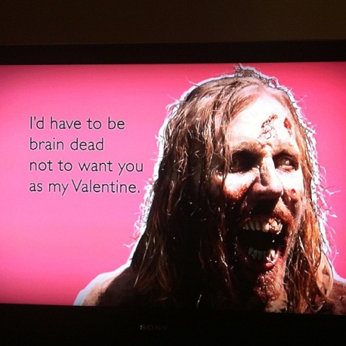 Aw! :D #ValentinesDay #TWD #TheWalkingDead #Awesome (Taken with instagram)