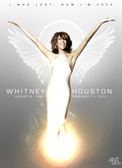 """I was lost, now I'm free.."" RIP Whitney Houston"