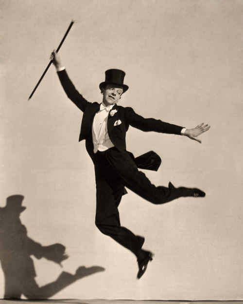 bohemea:  Fred Astaire  I'm having a happy day.
