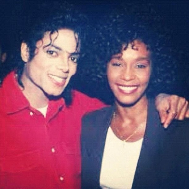 #RiPWhitneyHouston #RiPMichaelJackson (Taken with instagram)
