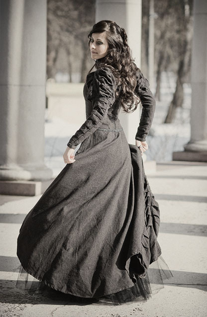 sunshine-moon:  (via Victorian Dress 03 by ~Angirias)