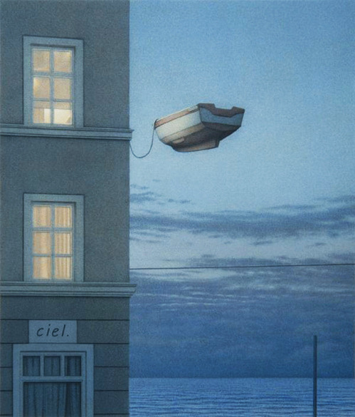 lionskeleton:  Window at Night, Quint Buchholz