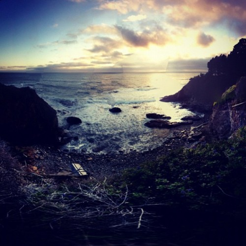 Old Coast Cove Sunset | #california #adventure #highway #one #iphoneography #igerscalifornia #sunset #instagood  (Taken with Instagram at City Of Gualala)