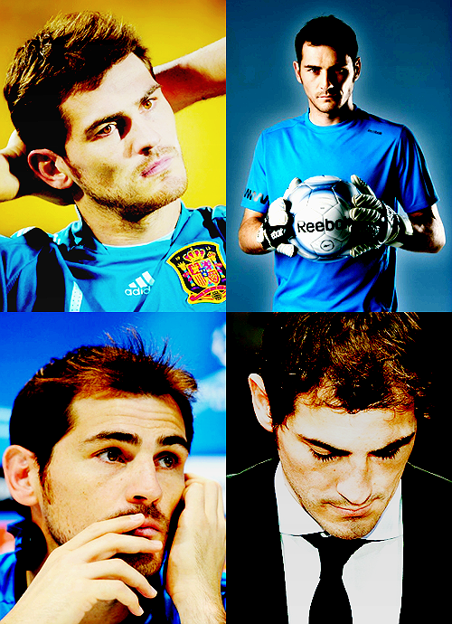Favourite footballers → Iker Casillas [Real Madrid/Spain]