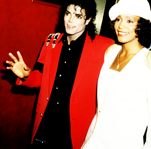 Two true superstars, lost forever: RIP. foxboy:  Whitney Houston and Michael Jackson