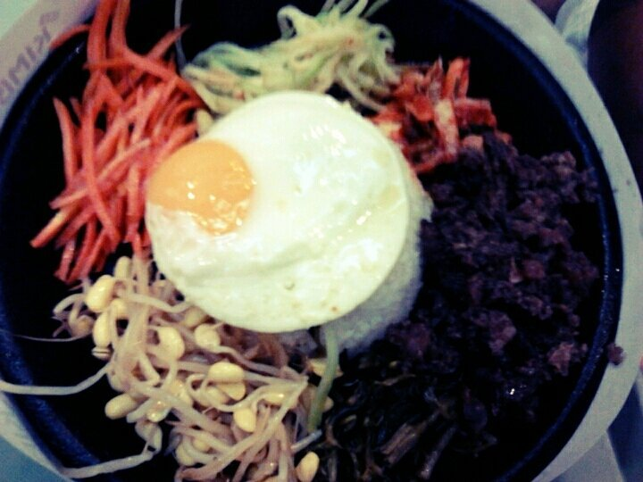 Bibimbop! #eypolapol #food #mrkimbop (uploaded with Streamzoo.com)