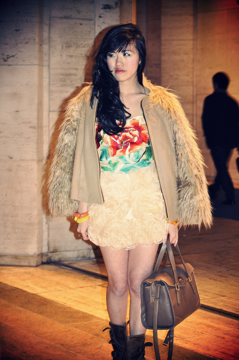 #NYFW DAY 2    Rachel - Lincoln Center, NYC   Princess of China // Rosette Galore