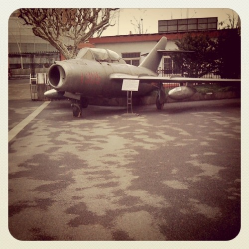 This aeroplane also stands at the southern end of campus. I'd be able to make this post far more exciting if I could remember anything written on that white plaque.