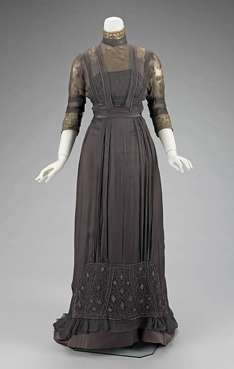Dinner Dress. House of Paquin 1909 Met